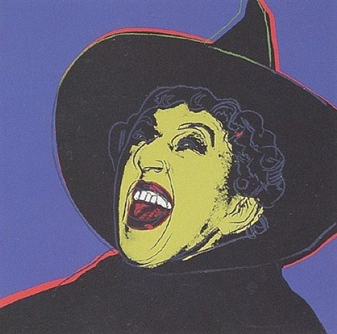 myths: the witch [ii.261] by andy warhol